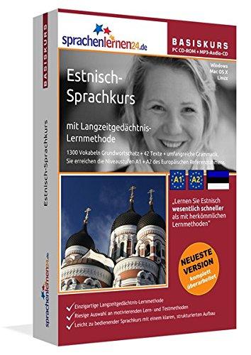 9783867258081: Sprachenlernen24.de Estnisch-Basis-Sprachkurs. PC CD-ROM f�r Windows/Linux/Mac OS X + MP3-Audio-CD f�r Computer /MP3-Player /MP3-f�higen CD-Player: ... Wiedereinsteiger und Fortgeschrittene!