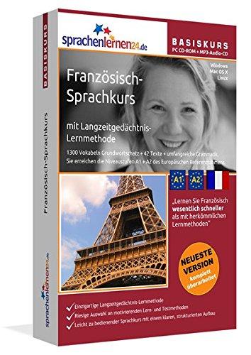 Sprachenlernen24.de Franzosisch-Basis-Sprachkurs. PC CD-ROM fur Windows Vista; XP, NT; ME; 2000; ...