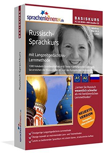 9783867258289: Sprachenlernen24.de Russisch-Basis-Sprachkurs. CD-ROM: Sprachkurs f�r Anf�nger, Wiedereinsteiger und Fortgeschrittene!
