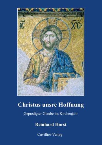 Christus unsre Hoffnung: Christian Horst