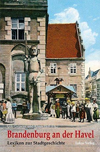 9783867320016: Brandenburg an der Havel: Lexikon zur Stadtgeschichte