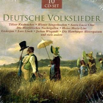 9783867352758: Deutsche Volkslieder, 10 Audio-CDs