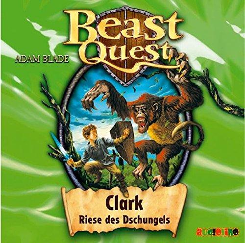 9783867370721: Beast Quest 08. Clark, Riese des Dschungels