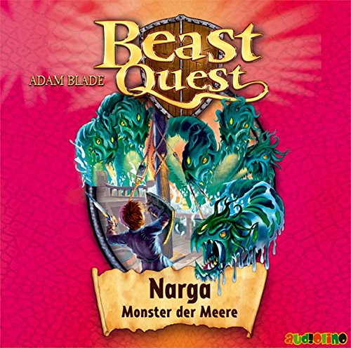 9783867371162: Beast Quest 15. Narga, Monster der Meere