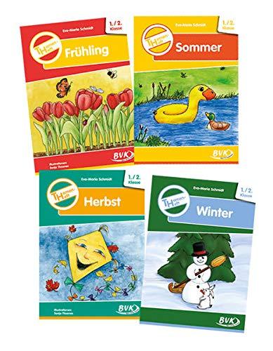 Themenheft Frühling / Sommer / Herbst / Winter, 1./2. Klasse, 4 Tle.: ...
