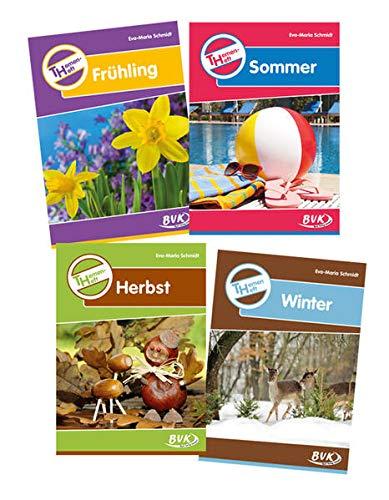 Themenheft Frühling / Sommer / Herbst / Winter, 3./4. Klasse, 4 Tle.: ...
