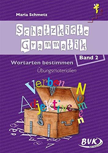 9783867401456: Schatzkiste Grammatik 2: Wortarten bestimmen, Übungsmaterialien. 1.-2. Klasse