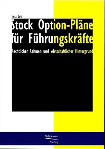 Stock Option-Plane Fur Fuhrungskrafte: Inna Luft
