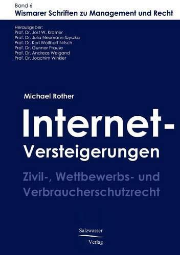 9783867410182: Internet-Versteigerungen (German Edition)