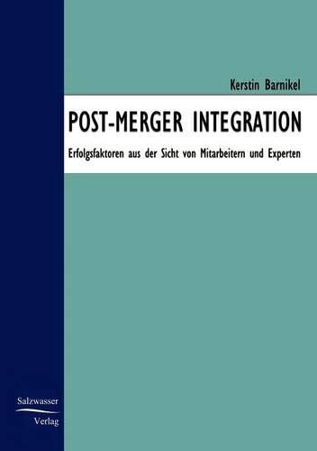 Post-Merger Integration (German Edition): Kerstin Barnickel