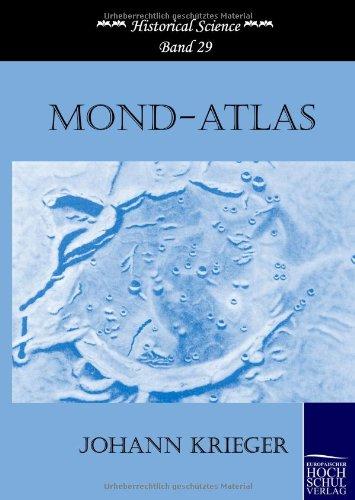Mond-Atlas (Hardback): Johann Krieger