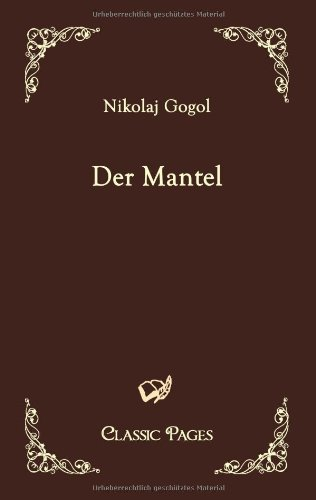 9783867412612: Der Mantel (Classic Pages) (German Edition)