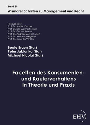 9783867416986: Facetten des Konsumenten- und Käuferverhaltens in Theorie und Praxis (German Edition)