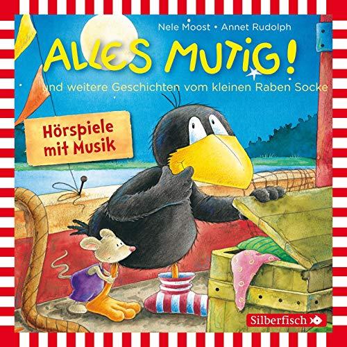 9783867427715: Kleiner Rabe Socke: Alles mutig!: Und weitere Geschichten vom kleinen Raben Socke