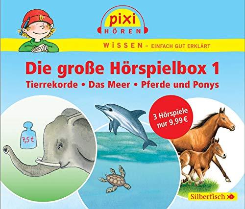 Pixi Wissen: die Groe Hrspielbox 1: Pixi Wissen