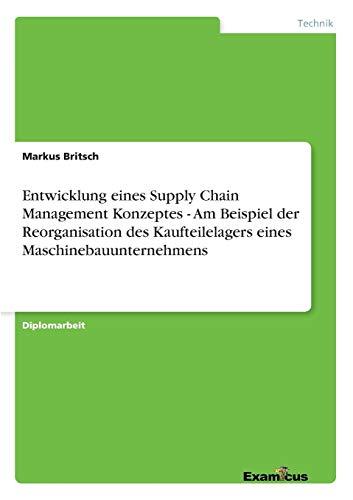 Entwicklung Eines Supply Chain Management Konzeptes - Am Beispiel Der Reorganisation Des ...