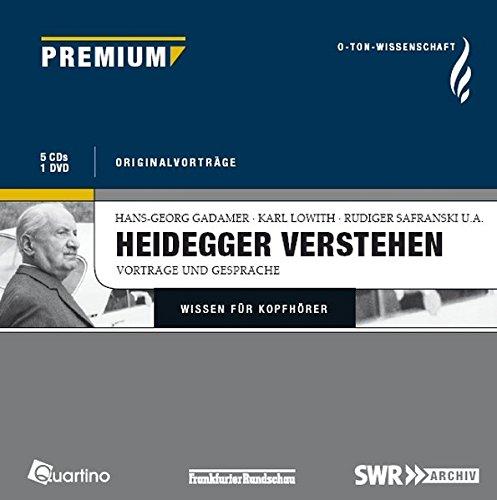9783867500456: Heidegger verstehen: O-Ton-Wissenschaft - Vorträge und Gespräche