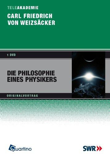 9783867500609: Carl Friedrich von Weizäcker - Die Philosophie eines Physikers [Alemania] [DVD]