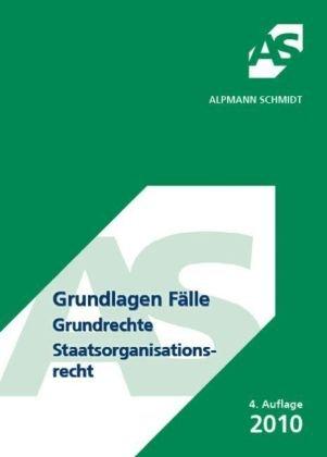 9783867521253: Grundlagen Fälle - Grundrechte - Staatsorganisationsrecht: 61 Fälle