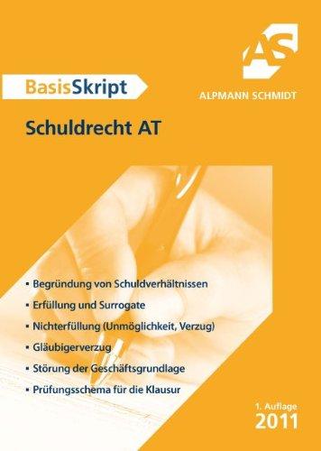 9783867521567: BasisSkript Schuldrecht AT