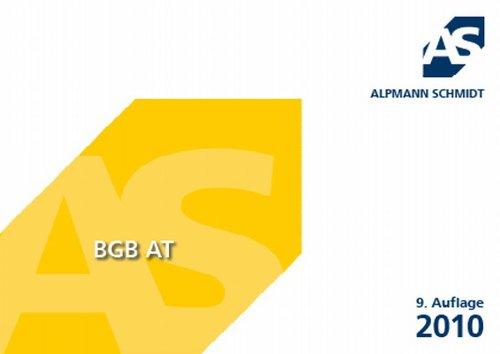Alpmann-Cards BGB AT: 75 Karteikarten - Annegerd Alpmann-Pieper