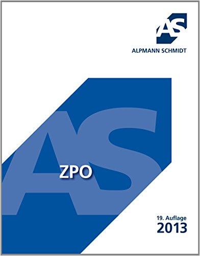 9783867523158: ZPO (Zivilprozeßordnung): Überblick über das FamFG