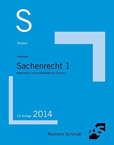 9783867523677: Sachenrecht 1