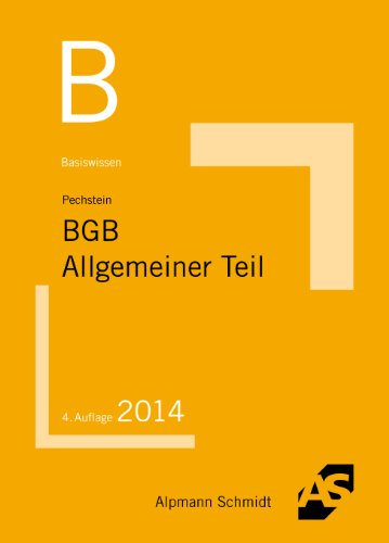 9783867523738: Basiswissen BGB Allgemeiner Teil