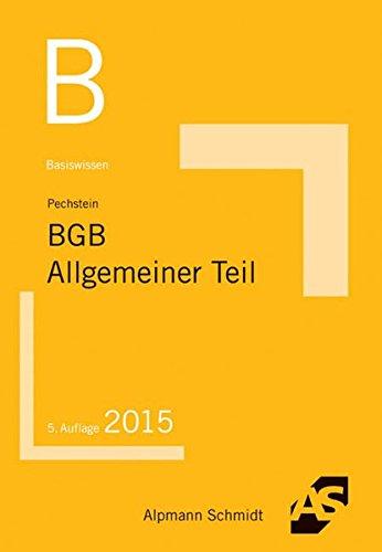 9783867524100: Basiswissen BGB Allgemeiner Teil