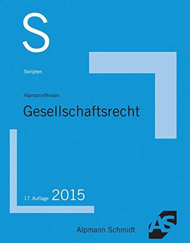 9783867524261: Skript Gesellschaftsrecht: 35 F�lle