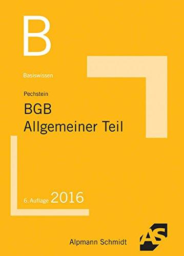 9783867524742: Basiswissen BGB Allgemeiner Teil