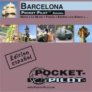 9783867530286: Barcelona Laminated Pocket Map by Pocket-Pilot (Espanol-Spanish) (Spanish Edition)