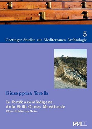 9783867575058: Le fortificazioni indigene della Sicilia Centro-Meridionale