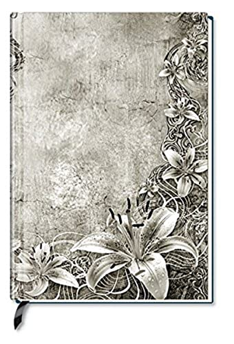 Note Book Blank Floral Art
