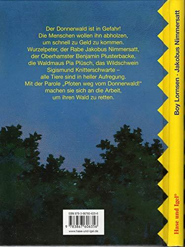 9783867606356: Jakobus Nimmersatt oder Pfoten weg vom Donnerwald!