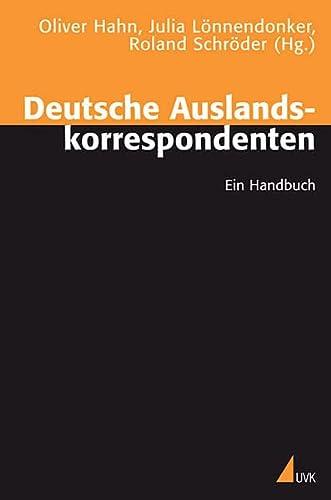9783867640916: Deutsche Auslandskorrespondenten: Ein Handbuch