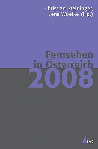 9783867640992: Fernsehen in Österreich 2008