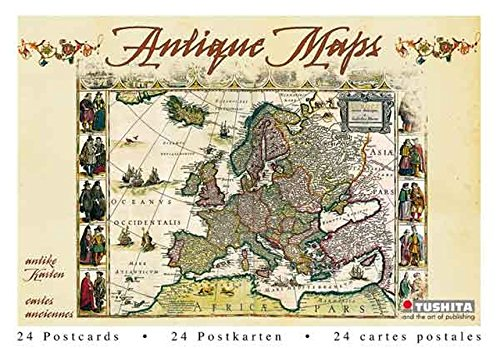 9783867655149: Antique Maps (Postcard Book)