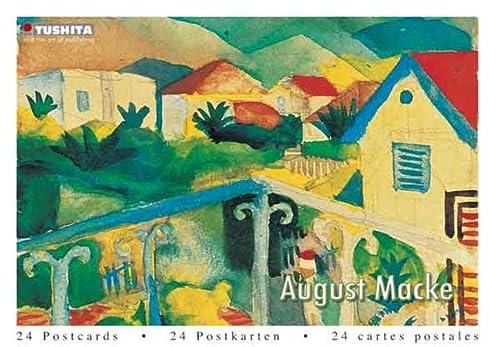 9783867655217: August Macke (Postcard Book)