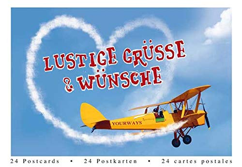 Lustige Grüße & Wünsche Postkartenbuch: Postkartenbuch Tubu30