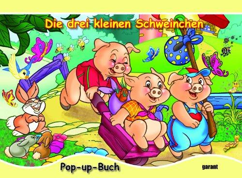 9783867661836: Pop-up Buch Die drei kleinen Schweinchen