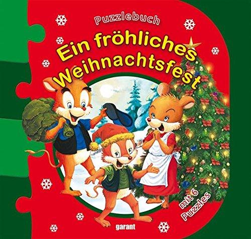 9783867664776: Ein fröhliches Weihnachtsfest: Puzzlebuch