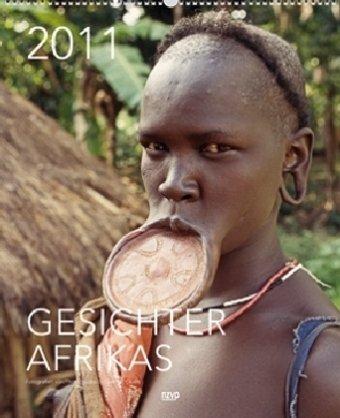 9783867675802: Gesichter Afrikas 2011. XL High Kalender