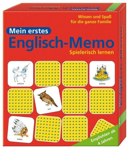 9783867750400: Mein erstes Englisch-Memo. Empfohlen ab 4 Jahren (Wissen und Spaß für die ganze Familie)