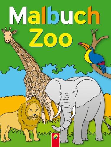 9783867752527: Zoo: Malbuch