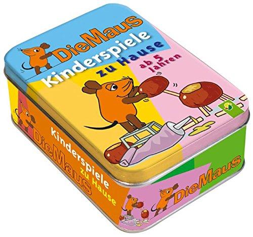 9783867756518: Die Maus. Kinderspiele zu Hause (ab 5 Jahren). Metallbox mit 50 Activity-Karten