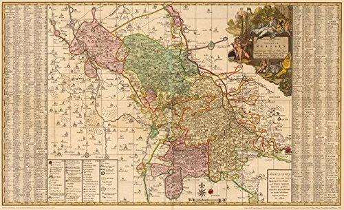 9783867770217: Historische Karte: Ämter Meissen, Nossen, Oschatz und Wurtzen, 1750 (Plano): KURFÜRSTENTUM SACHSEN | MEISSNISCHER KREIS.