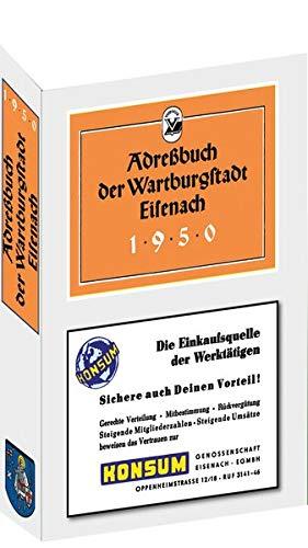 9783867771177: Adreßbuch der Stadt Eisenach 1950: - Einwohnerbuch -