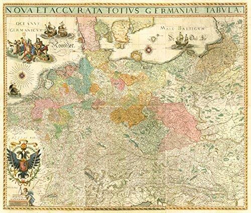 9783867774949: Historische Karte: DEUTSCHLAND um 1630 (Plano 2 Bögen)