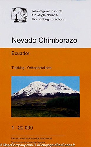 9783867801416: Nevado Chimborazo Trekking Map